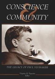 Cover of: Conscience & community