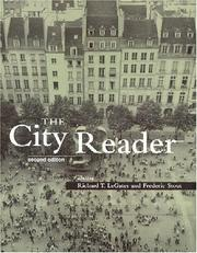 Cover of: The City Reader | R. Legates