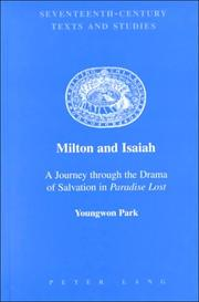 Cover of: Milton and Isaiah