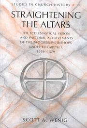 Cover of: Straightening the altars
