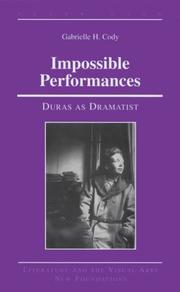 Cover of: Impossible performances
