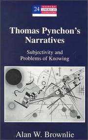 Cover of: Thomas Pynchon's narratives