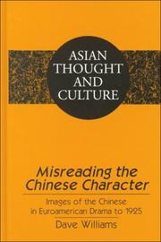Cover of: Misreading the Chinese character