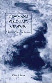 Cover of: Newman's Visionary Georgic: A Reading of Parochial Sermons