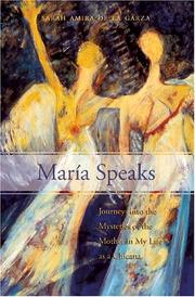Cover of: Maria Speaks | Sarah Amira De LA Garza