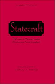 Cover of: Statecraft