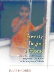 Cover of: Poverty Begins At Home | Julie Hadeed