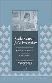 Cover of: Celebration of the everyday