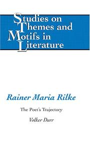 Cover of: Rainer Maria Rilke | Volker DuМ€rr