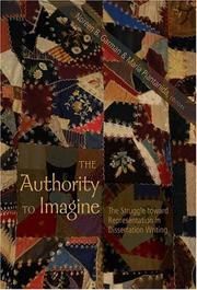Cover of: The authority to imagine |