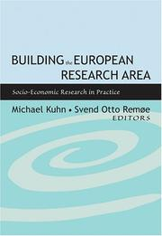 Cover of: Building The European Research Area | Svend Otto Remoe