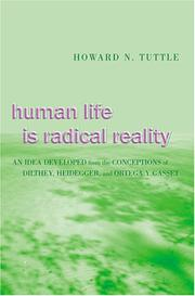 Cover of: Human Life Is Radical Reality