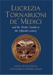 Cover of: Lucrezia Tornabuoni de' Medici and the Medici family in the fifteenth century