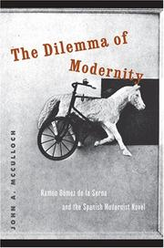 Cover of: The Dilemma of Modernity
