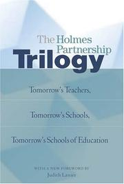 Cover of: The Holmes Partnership Trilogy | Holmes Partnership