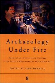 Cover of: Archaeology Under Fire