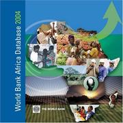 Cover of: World Bank Africa Database 2004