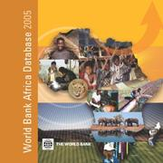 Cover of: World Bank Africa Database 2005