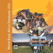 Cover of: World Bank Africa Database 2006