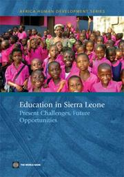 Cover of: Education in Sierra Leone | Lianqin Wang