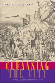 Cover of: Cleansing the City | Michelle Allen