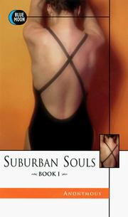 Cover of: Suburban Souls, Book I | Victorian Anonymous