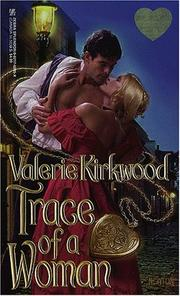Cover of: Trace Of A Woman | Valerie Kirkwood