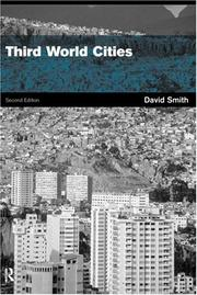 Cover of: Third World Cities 2nd Edition