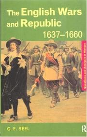 Cover of: The English wars and republic, 1637-1660