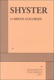 Cover of: Shyster | Bryan Goluboff