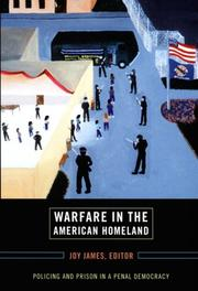 Cover of: Warfare in the American Homeland | Carol Gilbert