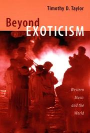 Cover of: Beyond Exoticism | Timothy D. Taylor