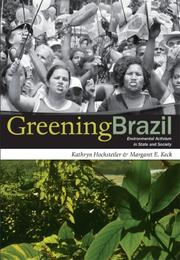 Cover of: Greening brazil | Kathryn Hochstetler