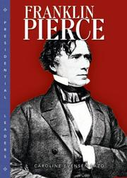 Cover of: Franklin Pierce (Presidential Leaders)