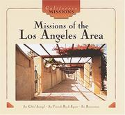 Cover of: Missions of the Los Angeles area | Dianne M. MacMillan