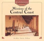 Cover of: Missions of the central coast