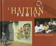 Cover of: A Haitian family