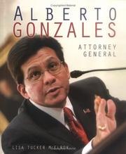 Cover of: Alberto Gonzales by Lisa Tucker McElroy