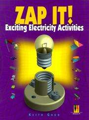 Cover of: Zap it!