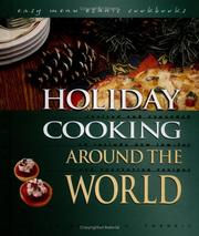 Cover of: Holiday Cooking Around the World (Easy Menu Ethnic Cookbooks) | Kari A. Cornell