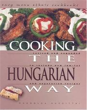 Cover of: Cooking the Hungarian Way | Hargittai, Magdolna.