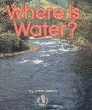 Cover of: Where Is Water?