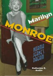 Cover of: Marilyn Monroe: Norma Jeane's dream