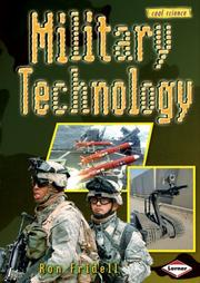 Cover of: Military Technology (Cool Science)