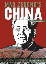 Cover of: Mao Zedong's China (Dictatorships)