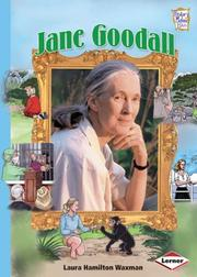 Cover of: Jane Goodall (History Maker Bios)