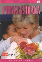 Cover of: Princess Diana (& E Biography)