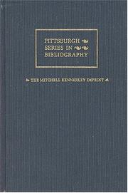 Cover of: The Mitchell Kennerley imprint