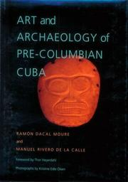Cover of: Art and archaeology of pre-Columbian Cuba