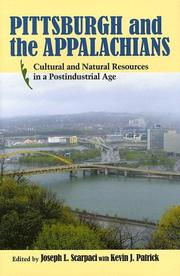 Cover of: Pittsburgh and the Appalachians |